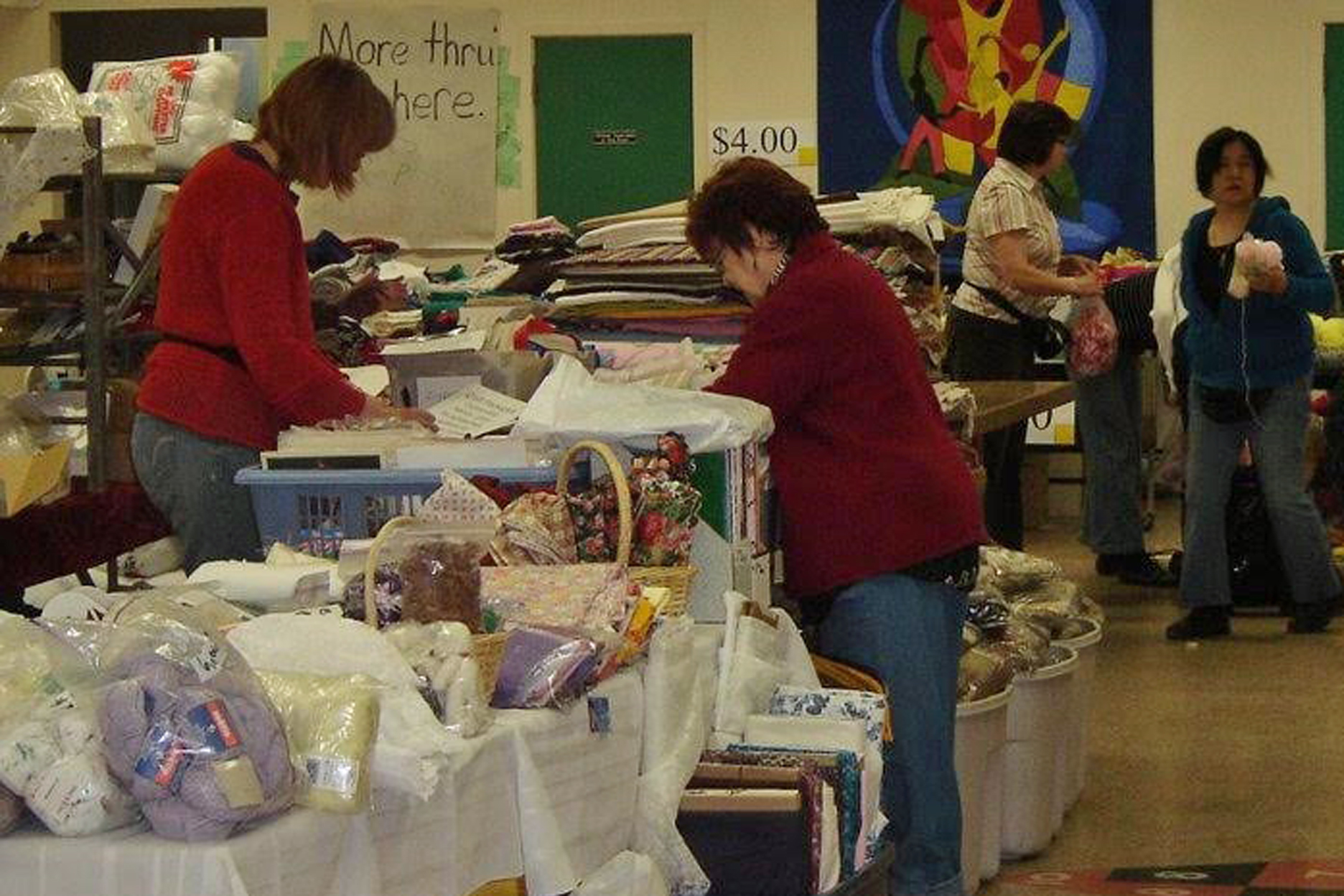 2008 FABRIC and YARN SALE